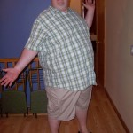 Jonathan Blue before gastric bypass surgery