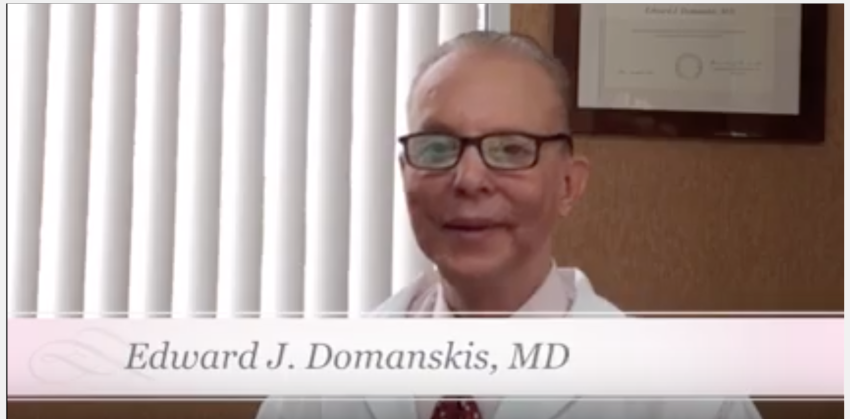 Dr. Edward Domanskis Bariatric Plastic Surgery video